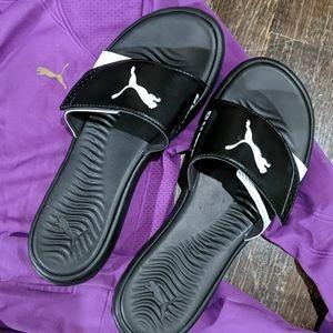 Puma🎁 sandals flip flops slip on ✨Same day ship